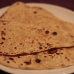Simple paratha, sfogliatine di pane all'olio