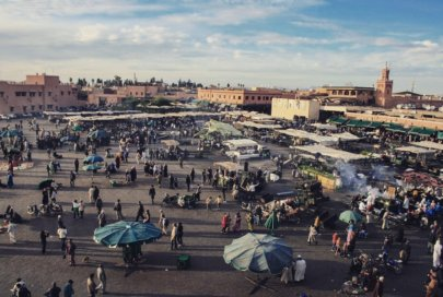 A Marrakesh come in un sogno confuso